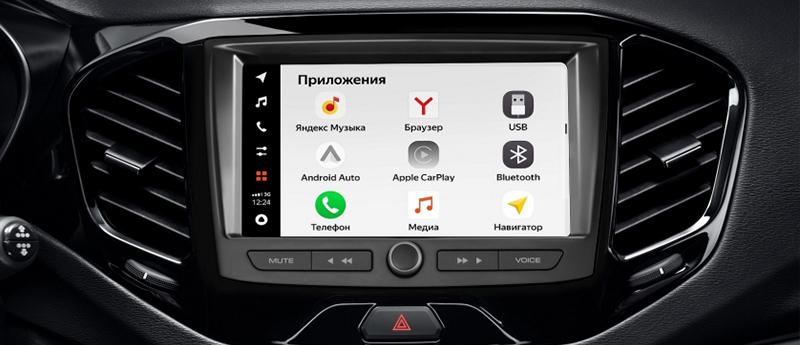 EnjoY Pro: мультимедийная система нового поколения от LADA