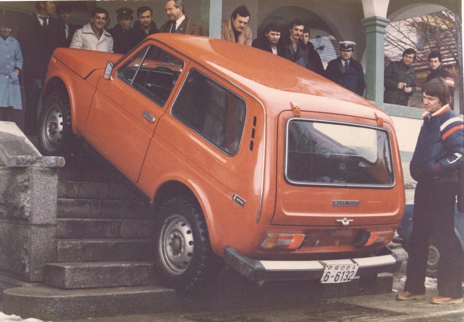 40 лет исполнится 5 апреля легендарному автомобилю LADA 4х4!