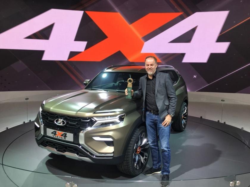 LADA 4x4 VISION – самая яркая премьера Московского международного автосалона 2018