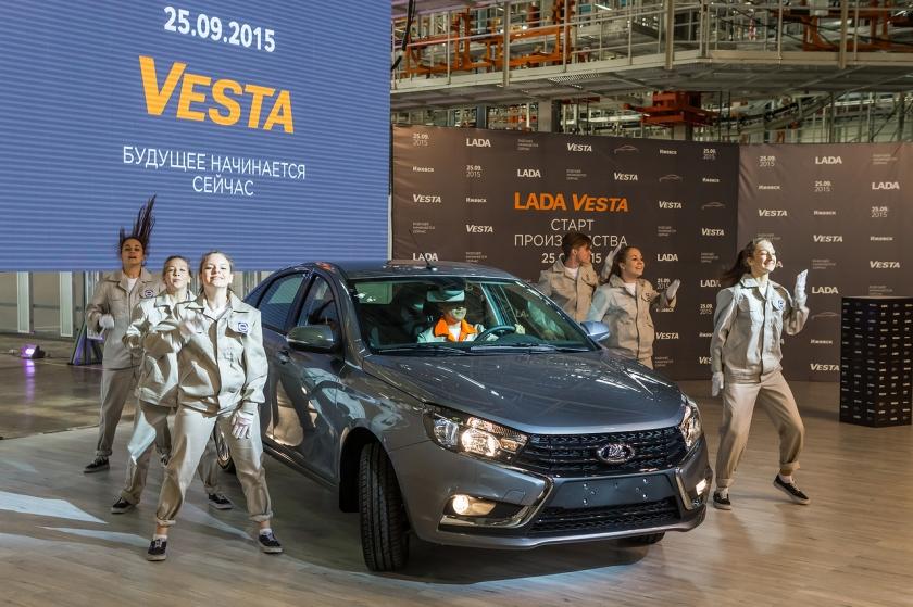 LADA Vesta: 5 лет флагману