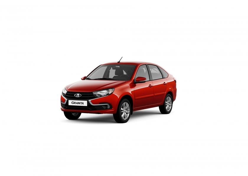 Результаты продаж автомобилей LADA в апреле