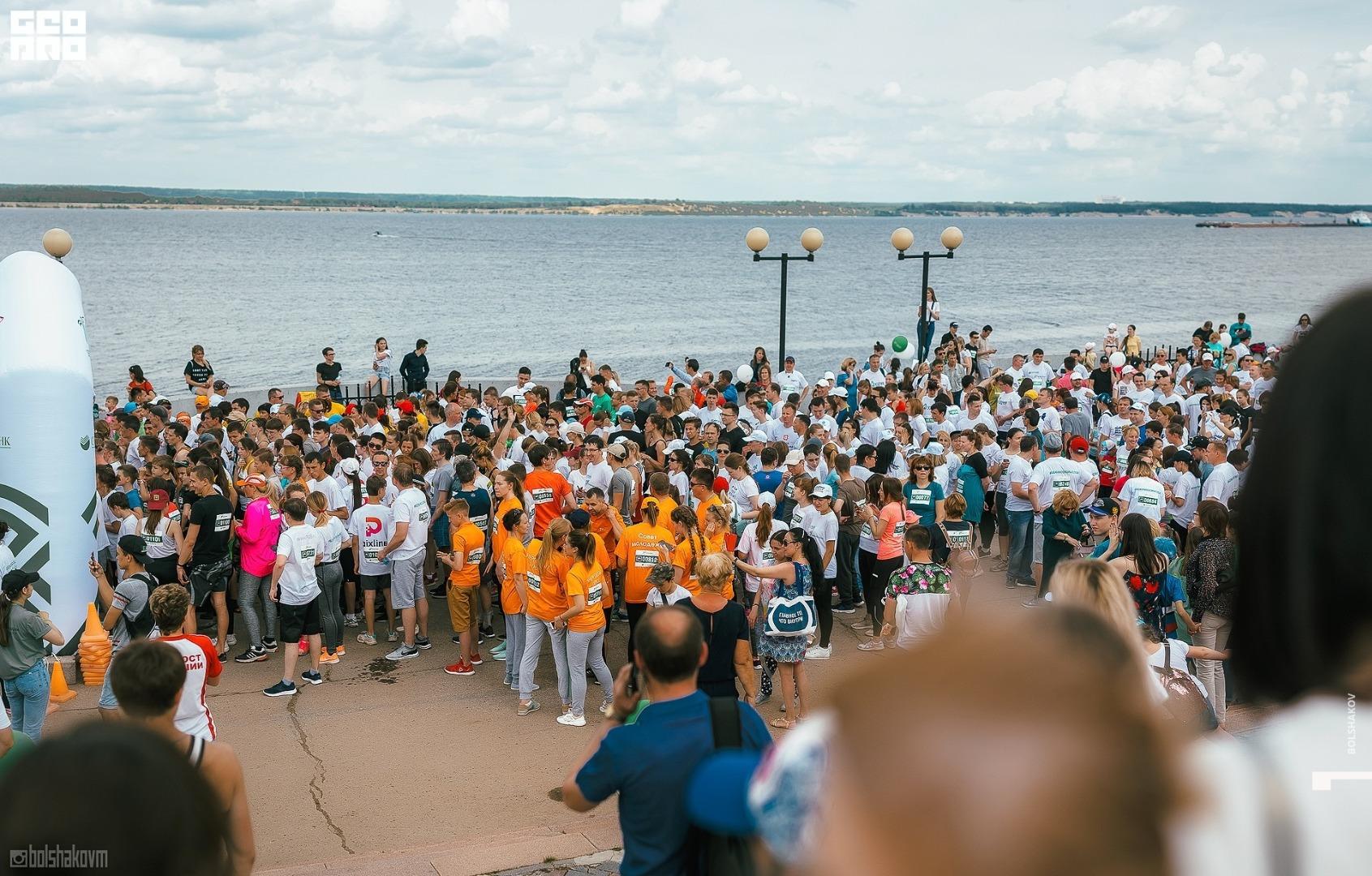 Чебоксары-Лада поддержали участников «Зеленого марафона»
