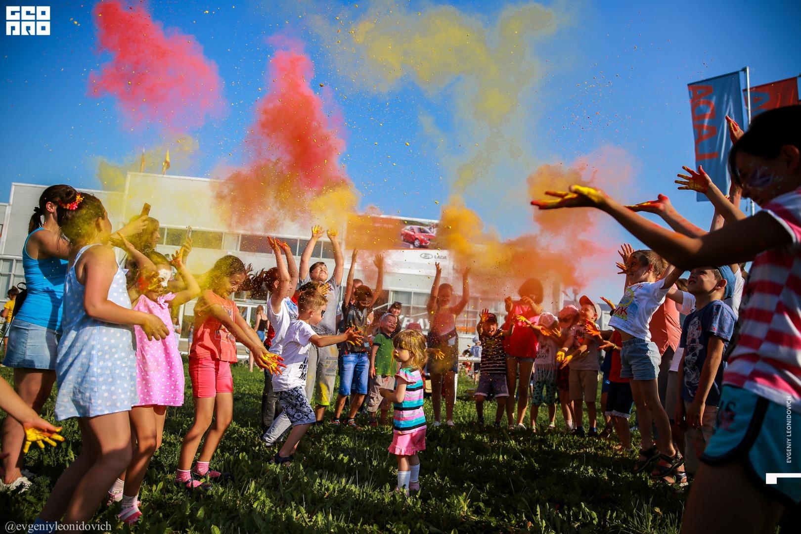 Детский праздник «Будущее LADA – это мы» в Новочебоксарске