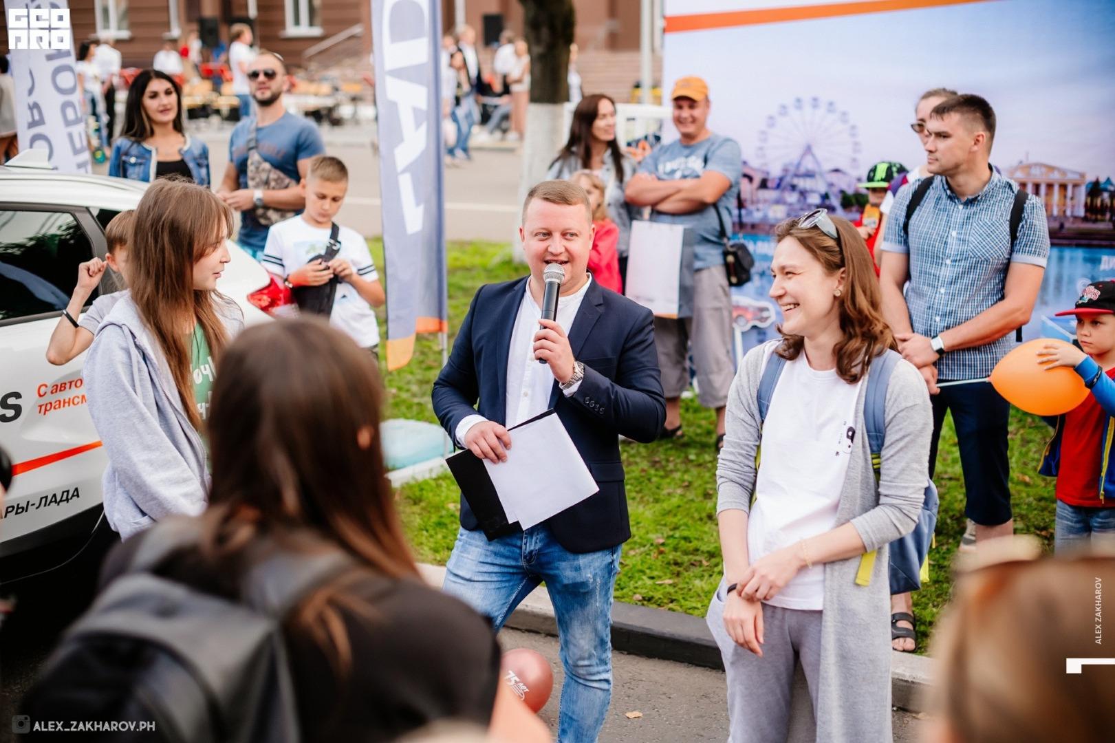 Дилеры LADA приняли участие в праздновании Дня города Чебоксары