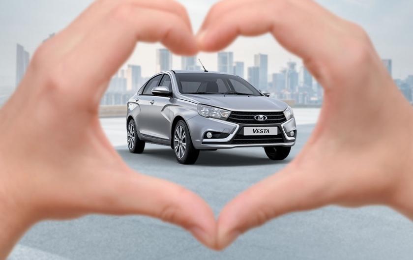 Выгодные предложения на автомобили LADA в июле