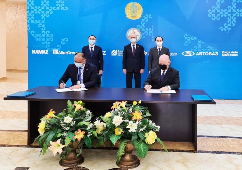 АВТОВАЗ продолжает развивать присутствие в Республике Казахстан