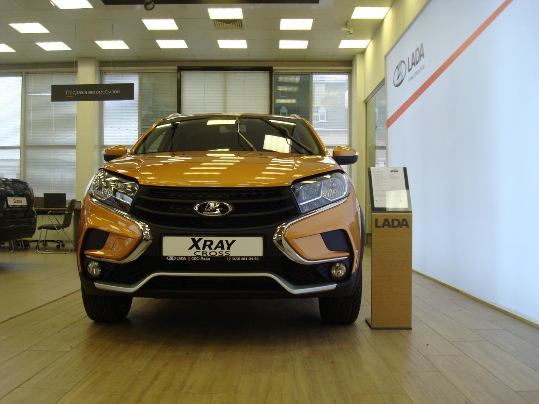 Презентация нового автомобиля LADA XRAY CROSS