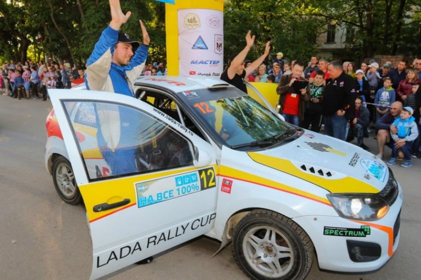 Пятый этап LADA Rally Cup на ралли ''900 Озер''