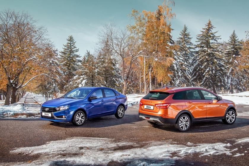 LADA Vesta с АТ и новыми опциями - старт продаж