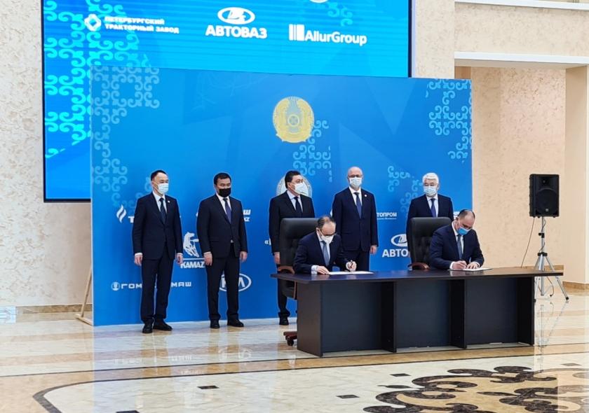 АВТОВАЗ подписал договор с индустриальным партнером в Казахстане