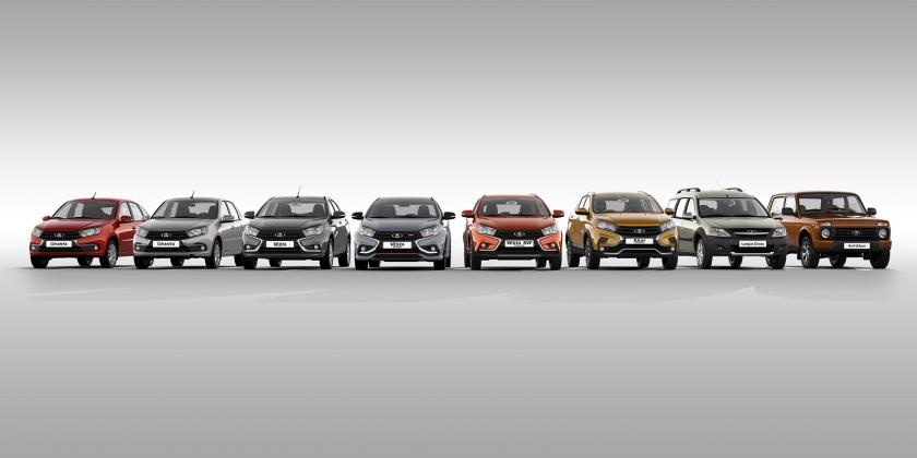 LADA увеличила продажи автомобилей в ноябре 2020 года