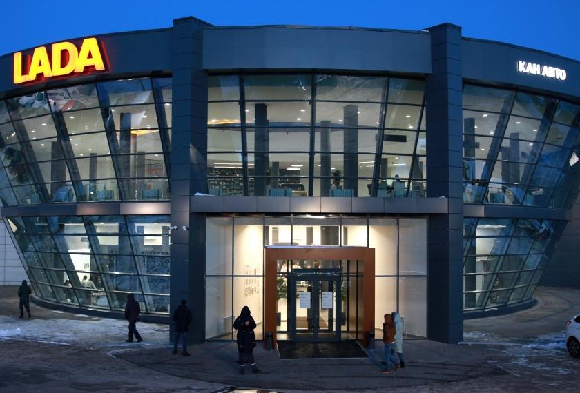 Открыт самый большой дилер LADA в Татарстане