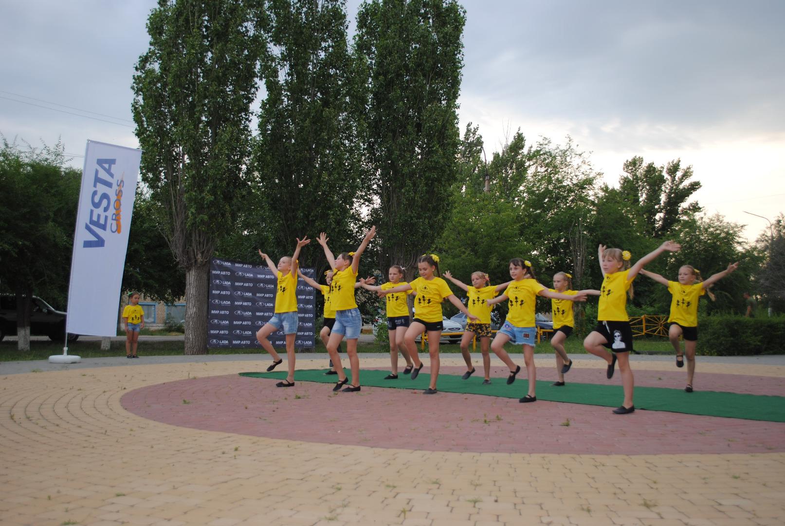 Компания Мир Авто приняла участие в праздновании Дня молодежи в Быково