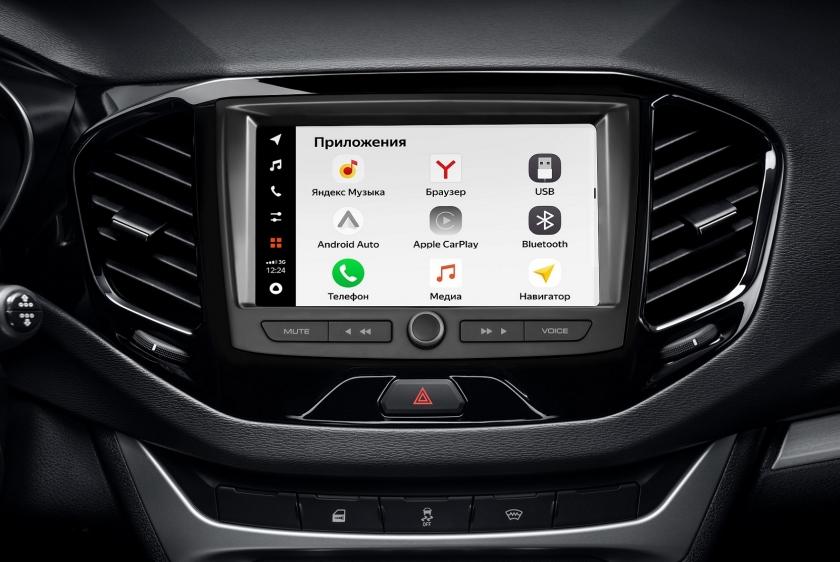 Старт продаж LADA с новой мультимедийной системой EnjoY Pro