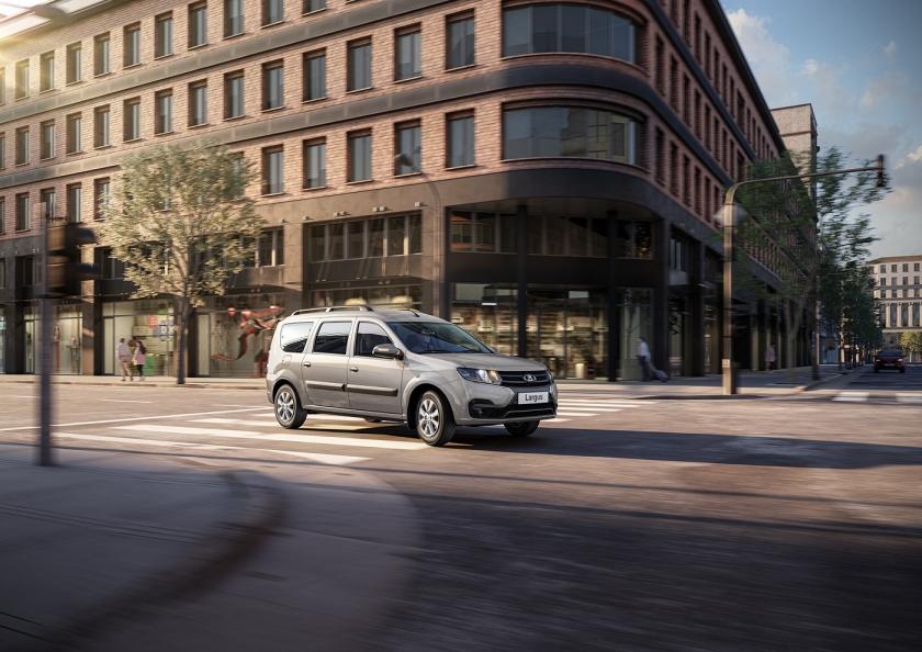 Старт продаж автомобилей LADA Largus в новом дизайне