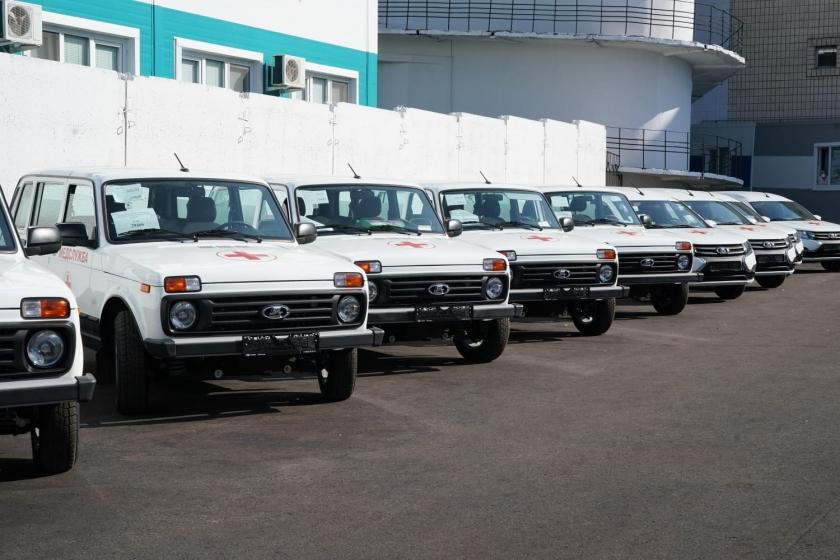 Автомобили LADA для медиков Самарской области