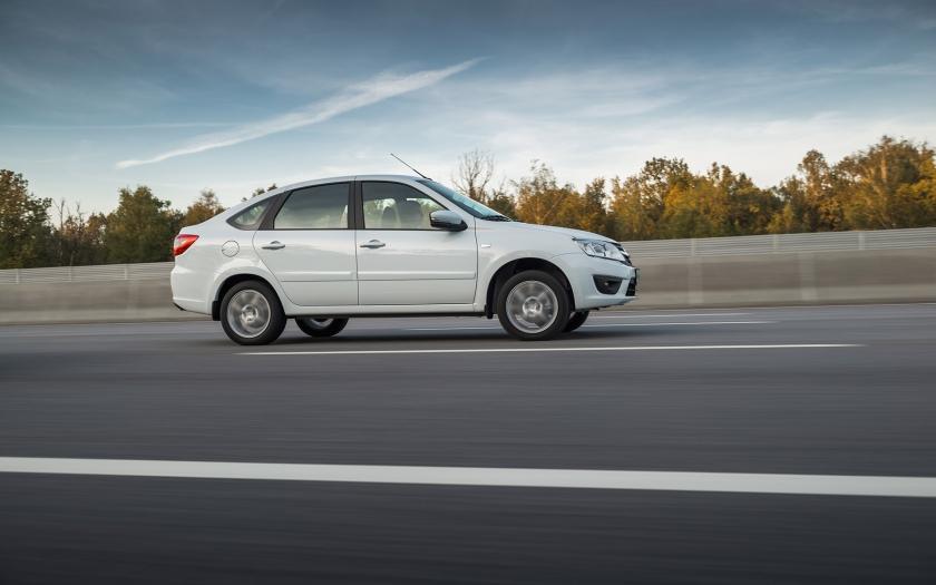 LADA Granta liftback - производство стартовало в Тольятти