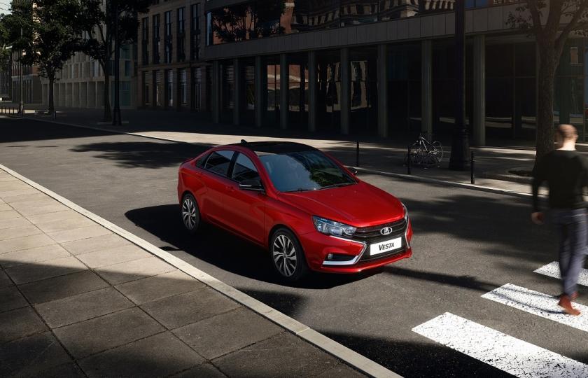 Стартовали продажи LADA Vesta Sport c пакетом «двухцветная окраска»