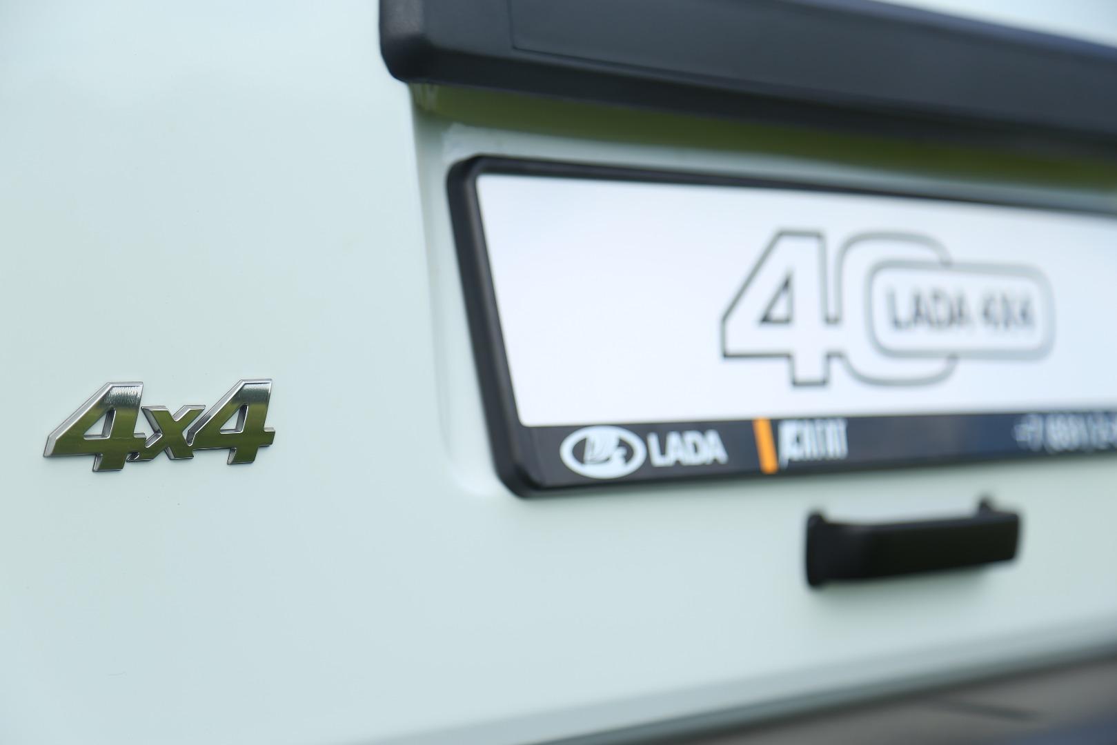 Легендарная НИВА (LADA 4x4) отпраздновала свой 40-летний юбилей