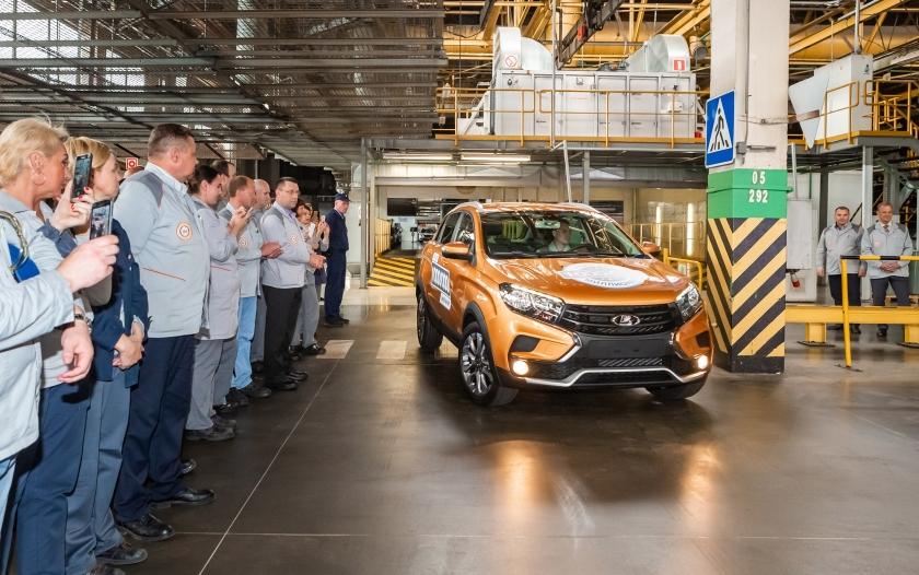 АВТОВАЗ выпустил миллионный автомобиль на линии В0
