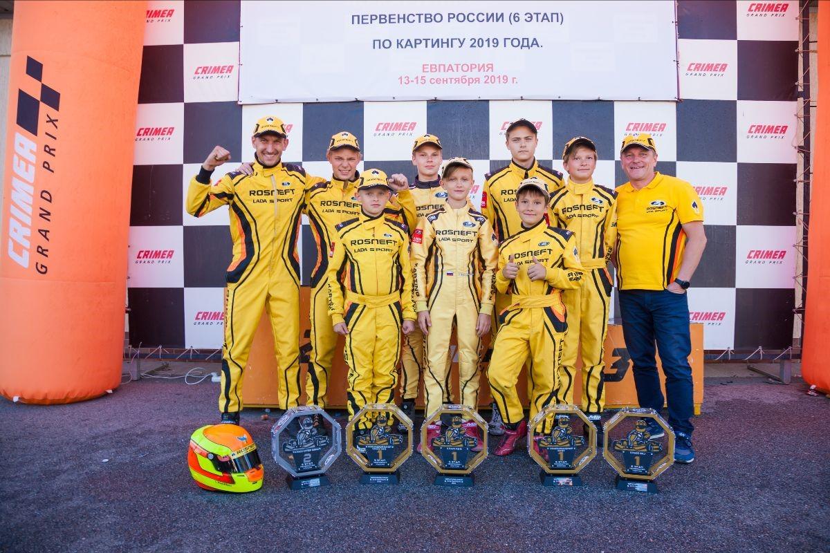 LADA Sport ROSNEFT: победная развязка сезона в Крыму
