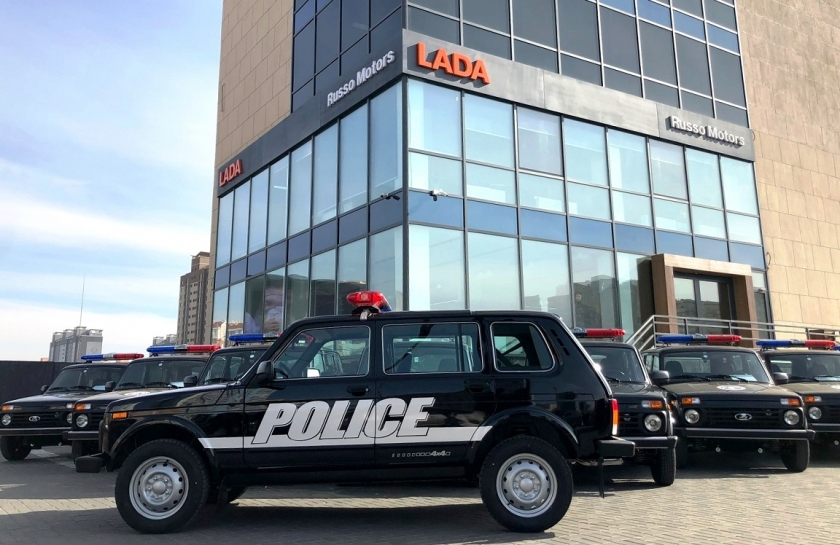 LADA 4х4 – выбор полиции Монголии