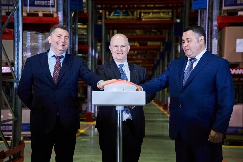 АВТОВАЗ открыл крупнейший региональный склад запчастей LADA.