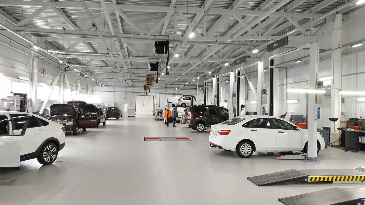 Привилегии обслуживания в сервисе LADA БЦР Моторс