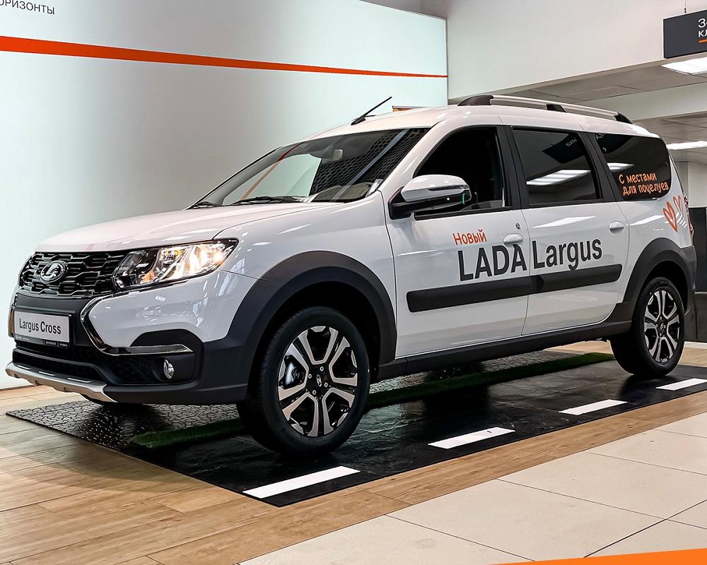 Новый LADA Largus в наличии