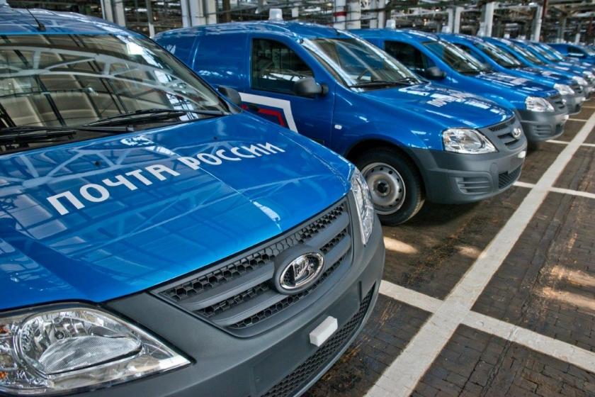 LADA: более 1000 новых фургонов для Почты России
