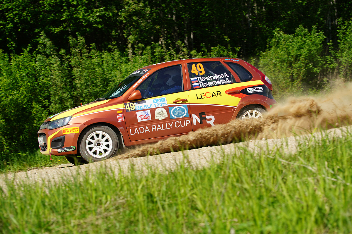 Третий этап LADA Rally Cup состоялся в Пушкинских Горах