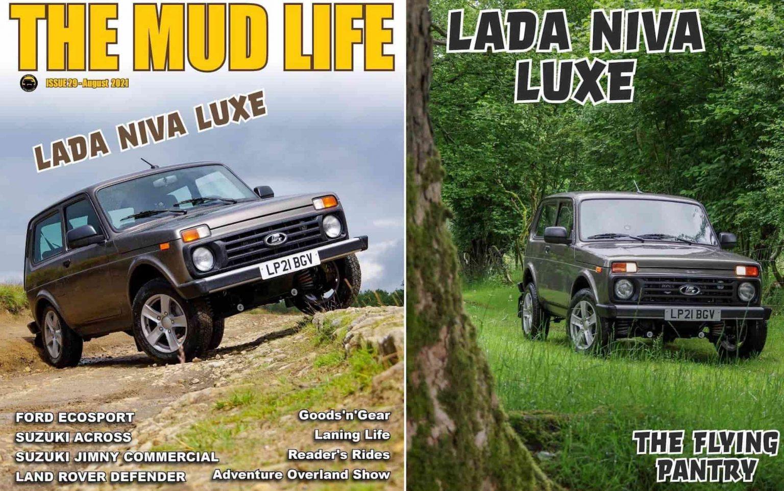 Lada Niva Legend стал в августе главным героем британского автомобильного журнала