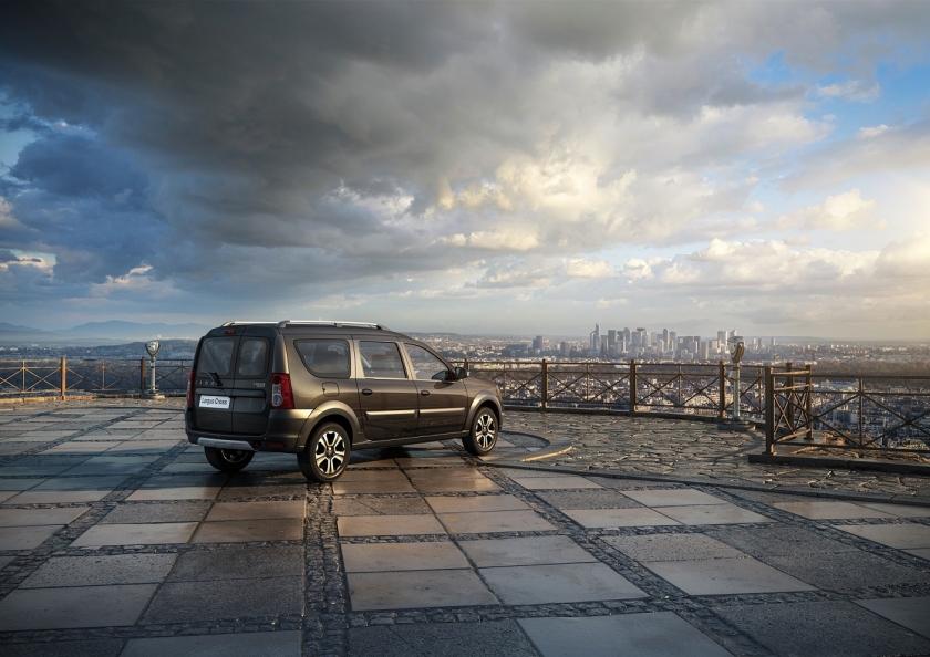 Lada Largus будет оснащаться новой мультимедийной системой Lada EnjoY Pro