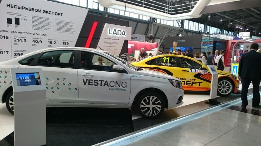LADA Vesta CNG выходит на российский рынок