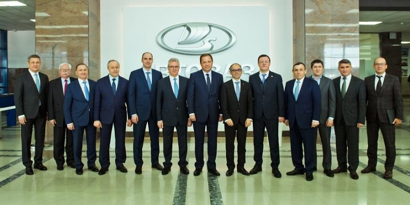 АВТОВАЗ принял руководство и губернаторов ПФО