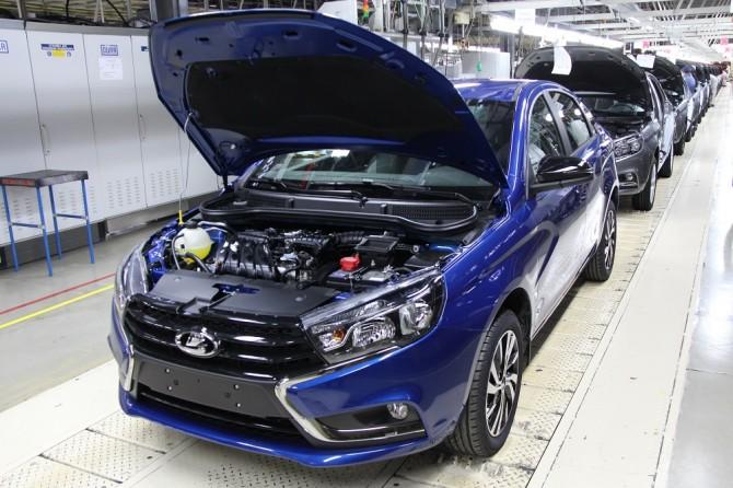 Самые продаваемые автомобили в России по итогам июля