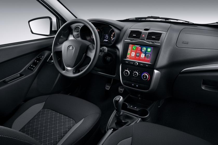 Старт продаж автомобилей LADA Granta с новой мультимедийной системой EnjoY Pro в ЮНИКОР