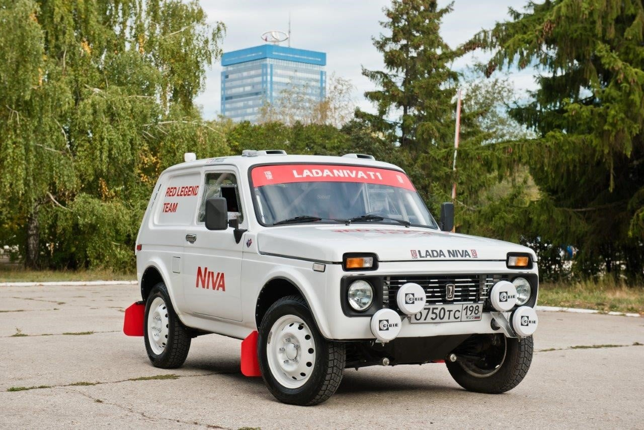 «АвтоВАЗ» показал Lada Niva для «Дакара»