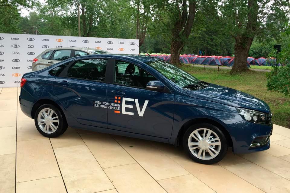 Автоваз планирует запустить электромобили в серийное производство