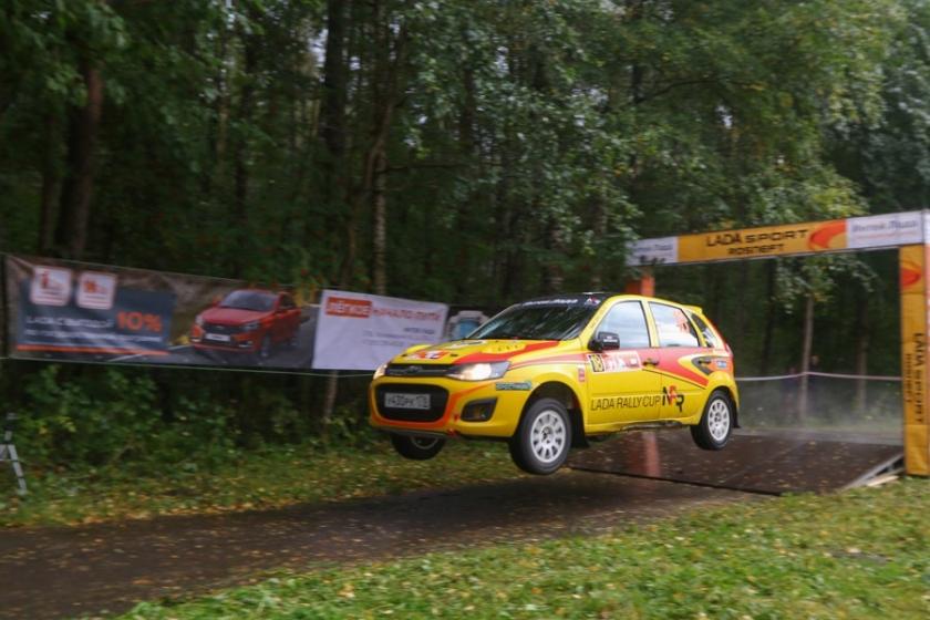 LADA Rally Cup: финал в Санкт-Петербурге