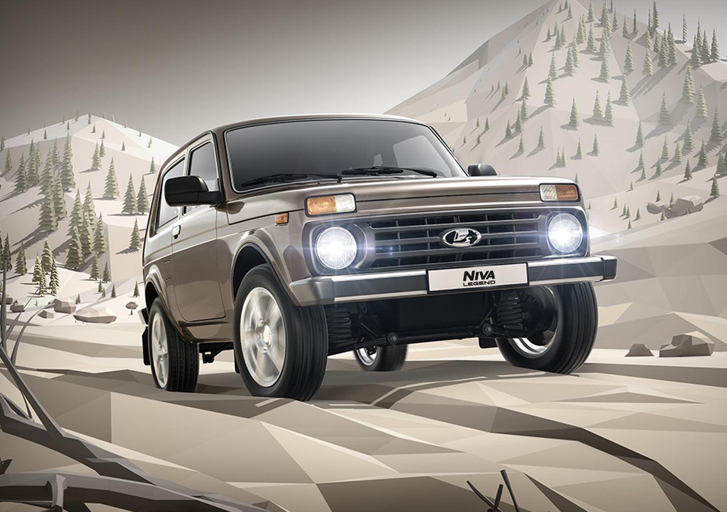 Специальное предложение на автомобили LADA Niva Legend