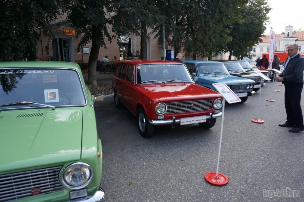 Выставка ретро-автомобилей LADA Hisrory в Калуге