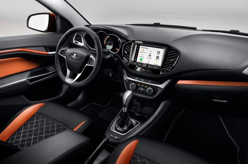 Старт продаж автомобилей LADA с новой мультимедийной системой EnjoY Pro