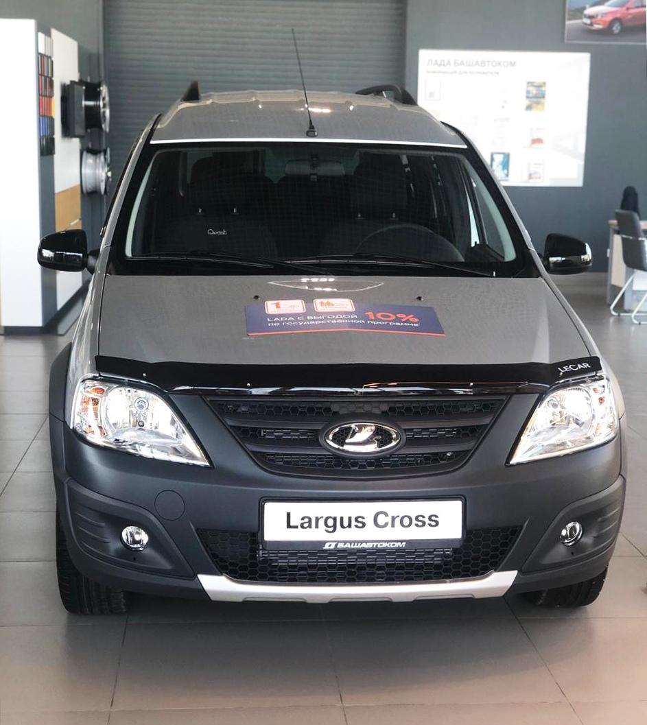 Старт продаж специальной модели LADA Largus Cross Quest