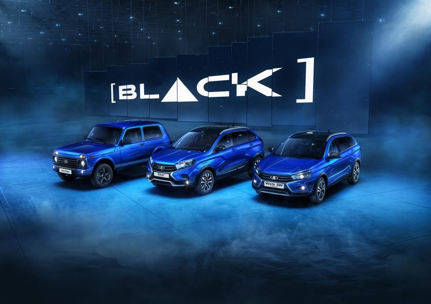 30 октября 2020 года в продажу поступили дополнительные модели специальной серии [BLACK]: 4x4 и XRAY