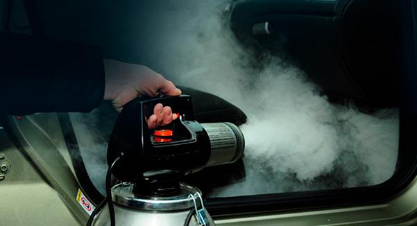 Озонирование салона (удаление запаха в автомобиле, дезинфекция) за 500 руб.