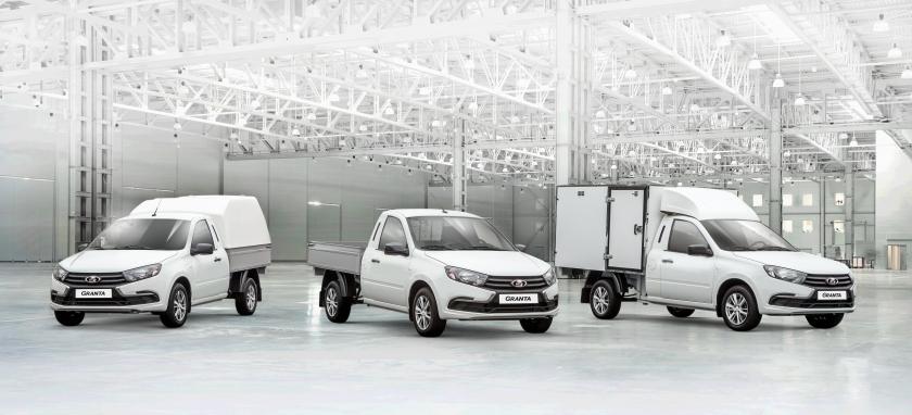 LADA Granta – новый модельный ряд коммерческих автомобилей