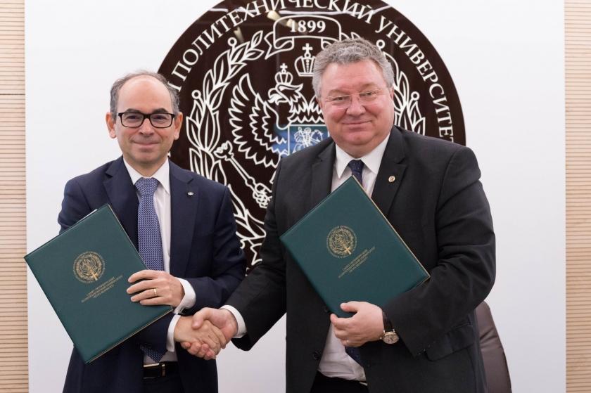 АВТОВАЗ заключил соглашения с Санкт-Петербургским политехническим университетом Петра Великого