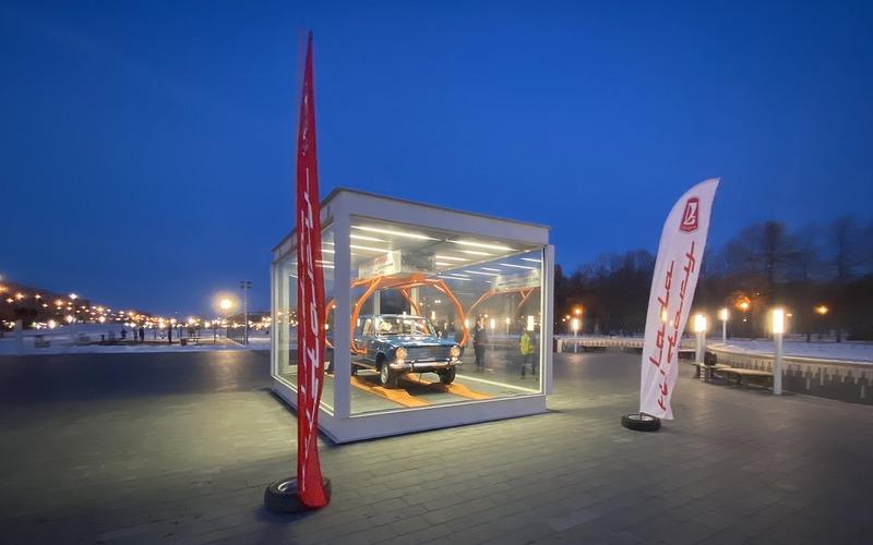 Автомобилю ВАЗ-2101 поставили памятник