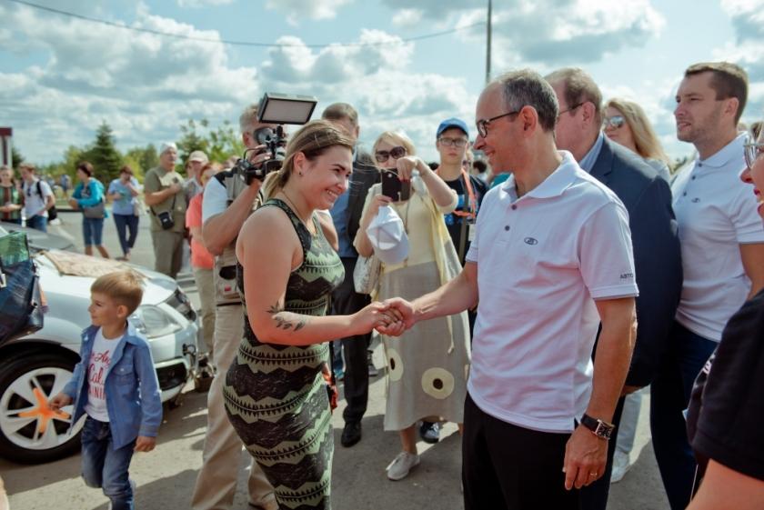 АВТОВАЗ принял в Тольятти 25 000 гостей